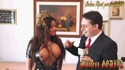 Andrea Diprè con Mistress Godiva - rito pissing