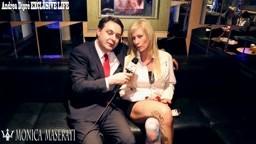 Andrea Diprè con Monica Maserati