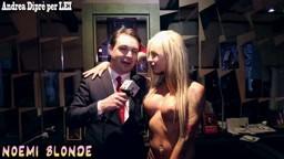 Andrea Diprè con Noemi Blonde
