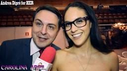 Andrea Diprè with Carolina Abril