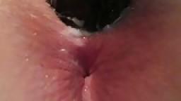 Black dildo orgasms
