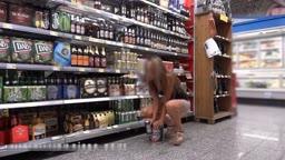 Italian Girl Tries Bottle After Visiting Supermarket