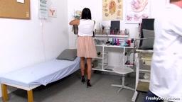 Eveline Dellai - 22 years girls gyno exam