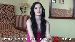 Woodman Casting Lucianna Karel aka Timea Bela  Part B