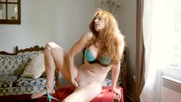 2014 09 16 fingering my velvety soft and wet pussy - Chloe Morgane Camille Crimson The Art of Blowjob -