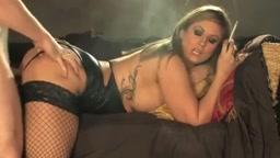 Hot Dirty Blonde Cougar in Heels Smoking 120s and Banging