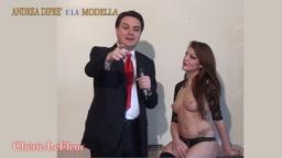 Andrea Diprè e la modella - Cherie LeFleur