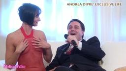 Andrea Diprè with Melissa Falko exclusive