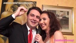 Exclusive Life Andrea Diprè with Loredana Bontempi