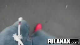 JUANITA CHIA FOLLANDO EL CULITO DE LA JOVENCITA LATINA