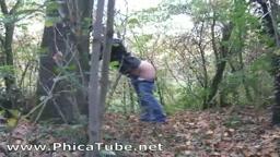 Culo nel bosco
