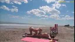 Spiaggia nudisti ..ma si esagera!