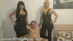 Filmato andrea dipre with mistress kelly and mistress lara von lush