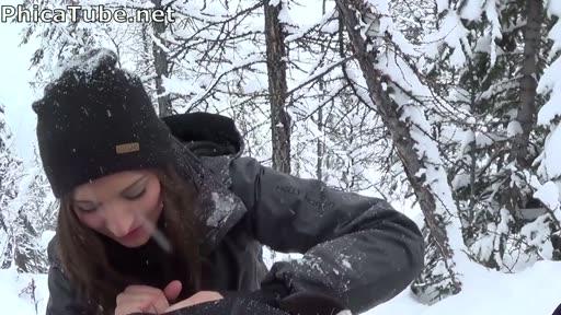 Snow Blowjob CIM