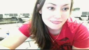 Meagan at School