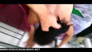 Video casalingo della cavalcata della fidanzata