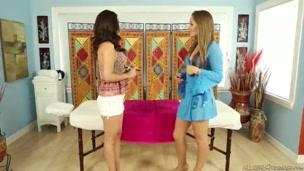 Lesbian Massage.