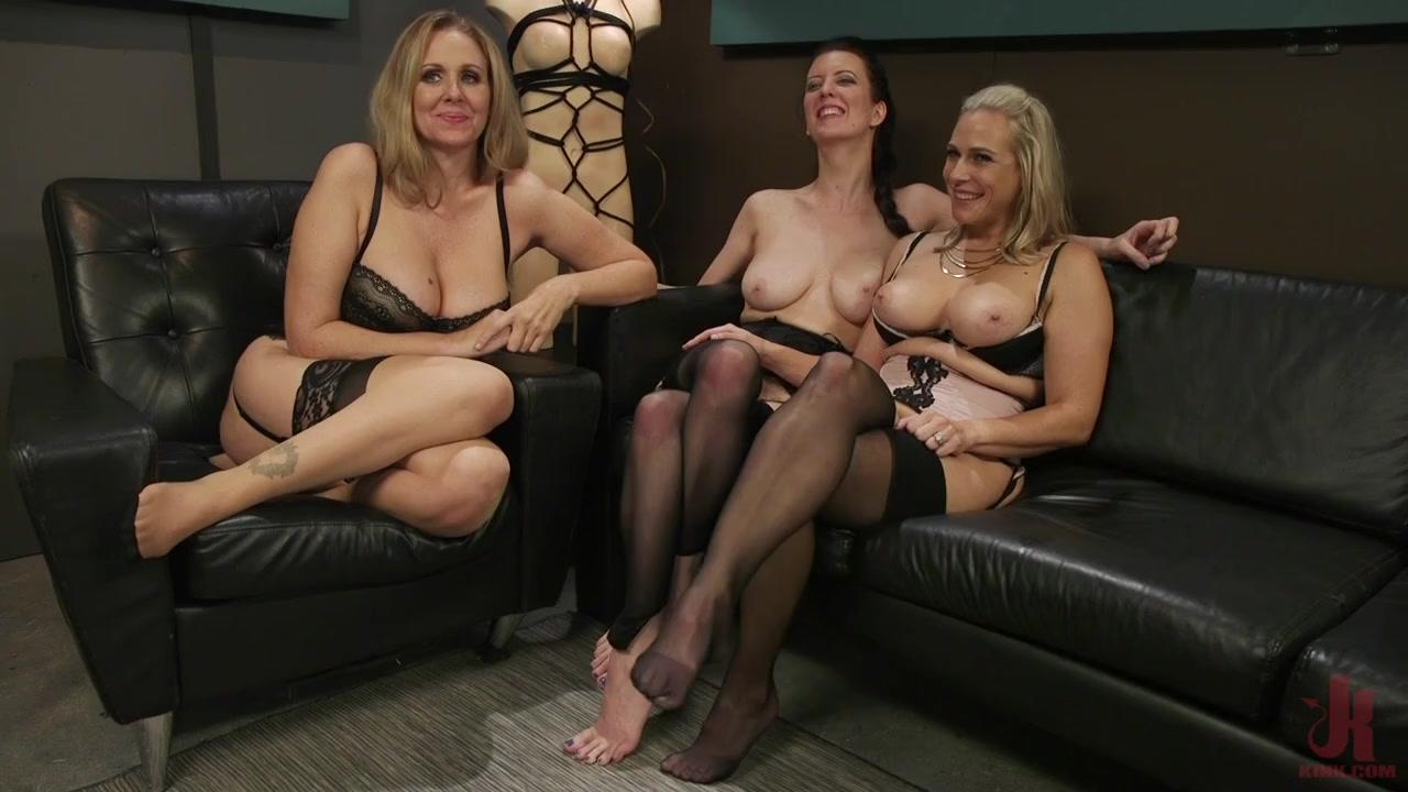 Cherry Torn, Julia Ann and Angel Allwood Kink Features #lesbian #BDSM