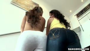 Two Pretty Latinas