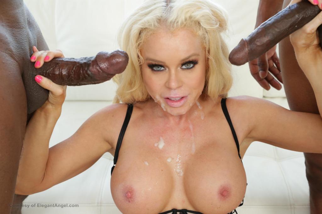 [Elegant Angel] - Nikki Delano - NIKKI First IR Anal DP ElegantAngel #Anal #Bigtits #Black #Double