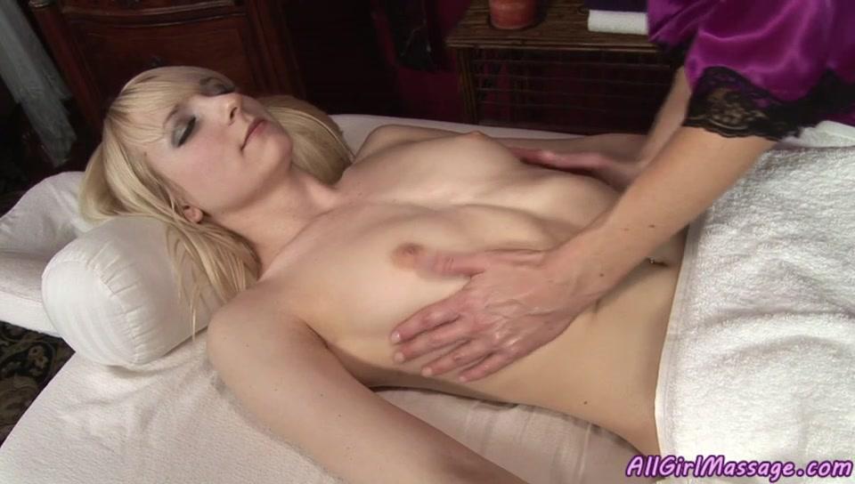 [All Girl Massage] - All Girl Massage.  India Summer, Ashley Jane.  Double Action.  #lesbian