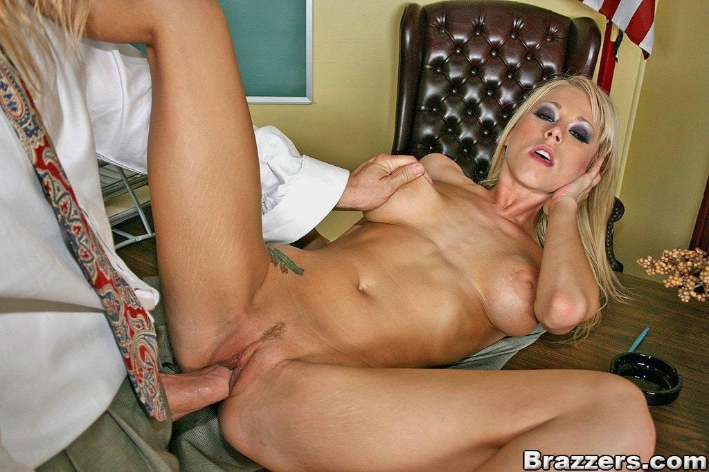 [Big Tits At School] - Katie Morgan - Price Of A Grade - Big Tits At School #Brazzers #Cougar #Blonde #BigTits #BigBooty